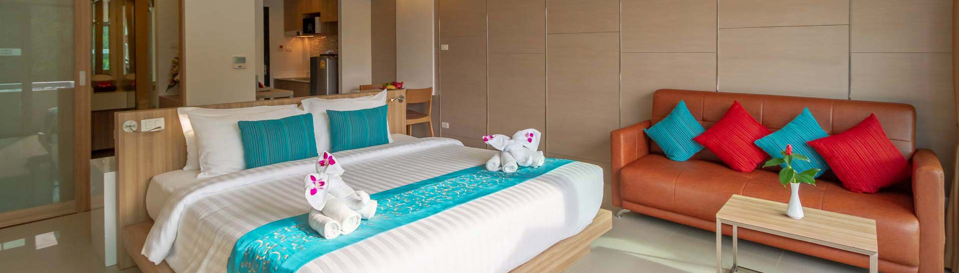 Rooms and Suites at the Patong Bay Hill Resort